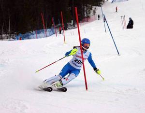 Vera Håkansson-Fermbäck tog silver i slalom.
