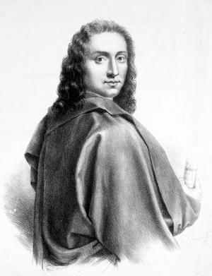 Giovanni Battista Pergolesi. Porträtt av Vincenzo Rocioni.