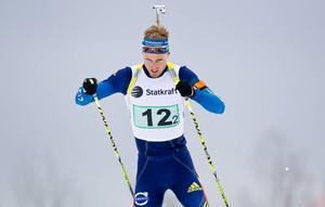 Christofer Eriksson siktar på medaljer i SM hemma i Östersund.