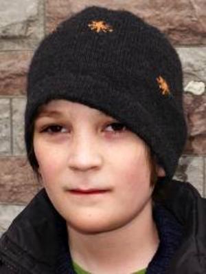 David  Andersson, 11 år, Torvalla:– Nej. En ren är för stor, vi har inte plats. Jag skulle vilja ha en hund, en chihuahua. Jag tycker att de är fina.