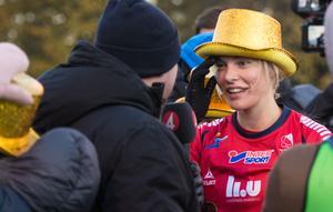 Lina Hurtig var gladast av alla kullor när Kvarnsveden och Linköping spelade 0–0.