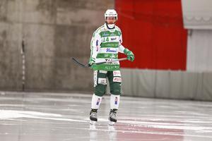 Patrik Sjöströms fot höll i första World cup-matchen.