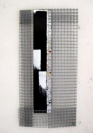 Up heter en av Anna Lindmarks verk på Karisma galleri.