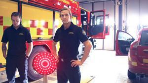 """""""I princip vid alla trafikolyckor så är det minst en som kör förbi alldeles för fort"""", säger Christer Hedén som är brandman vid räddningstjänsten i Avesta."""