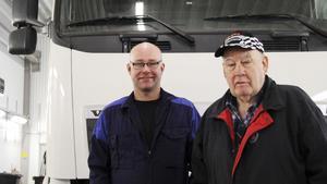 Nöjda ändå. Inte alla företag gav låga betyg, Söderstens åkeri i Bysala har en lång och god relation med Skinnskattebergs kommun. Göran och Bengt Södersten är nöjda och har byggt ut lokalerna.