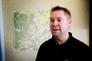Johnny Olofsson, kommunens infrastrukturplanerare.