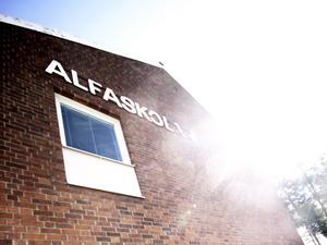 Alfaskolan i Fagersta fick besök av någon eller några som stal datorer från skolan.