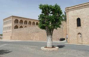 Klostret Mor Gabriel i Midyat.