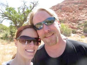 Tina och Mike Macklin träffades under magiska former.