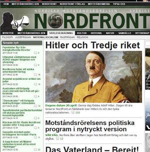 Historiska och ideologiska texter blandas med kamprapporter och nyheter – allt filtrerat genom en antisemitisk världsbild, enligt Christer Mattsson.