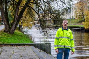 Stefan Näslund är sektionschef på gatuavdelningen.