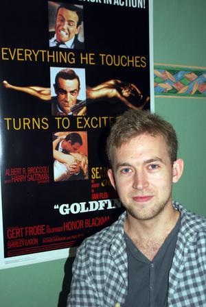 Johan Åslund från Ludvika går på Bond-premiär i Royal Albert Hall i morgon.
