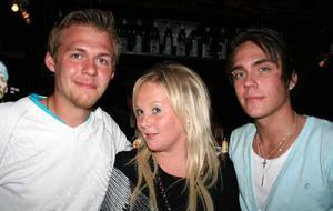 Konrad. Niklas, Marielle och Majk