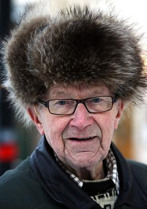 Ragnar Johansson, 83, pensionerad elektriker, Sundsvall: