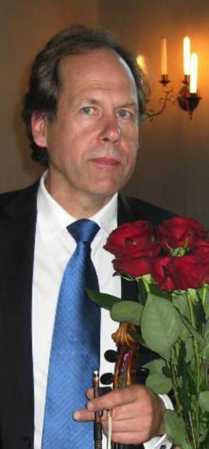 Bengt-Eric Norlén spelar örongodis från Wien  i kvällens konsert tillsammans med Weberkvartetten.