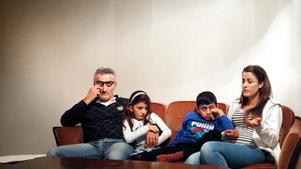 Said, Pamela, Paolo och Safaa Murkus blev vräkta från sin lägenhet i början av december.