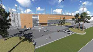 Målet är att fotbollsarenan ska vara spelbar till säsongen 2015. Då får Gefle IF inte längre spela allsvensk fotboll på Strömvallen på grund av nya arenakrav.