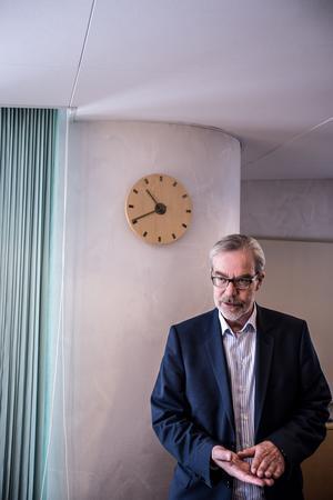 Mikko Jokio, platschef på Kvarnsvedens pappersbruk.