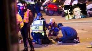 Två personer har omkommit och 20 skadats i en tragedi på SXSW-festivalen i Austin. Örebroaren Anders Damberg (infällda bilden) befinner sig i staden just nu-