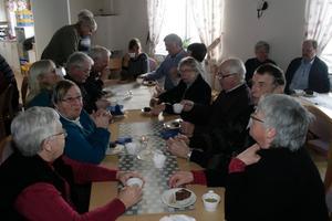 Många kom på söndagen till Kräcklingegården för att lyssna på lokalhistoria.