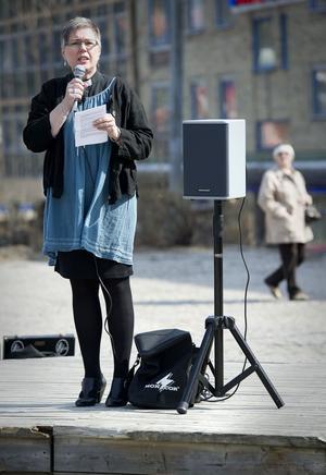 Prosten Eva Nordung Byström visade att hon reagerar på rättvisor.