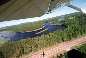 Från första maj till sista augusti kommer Frivilliga flygkåren, FFK, att bevaka Gävleborgs län från luften. Foto: Lars Sundin