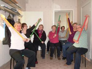 Reumatikerföreningen Ljusdal hade sittgympa kl 11.11. den 11.11.11Tyvärr viser klocka på kameraet fel tid.