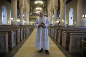 Gustaf Åhman kom till Hälsingland som ung, nybliven präst.