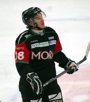 Niklas Fogström i Moratröjan under sin förra sejour i klubben. Foto: Jörgen Wåger