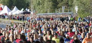 Måndag 9 juni går startskottet för Vårruset i Östersund.   Arkivbild: Olof Sjödin