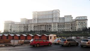 Ceaușescus absurda skrytbygge hyser i dag både parlamentet och Moderna museet.