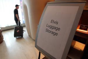 Nu är äventyret slut. Bo Östlin drar sin väska från New York, mot Hudiksvall.