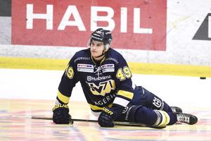 Axel Eidstedt i HV-tröjan den gångna säsongen.