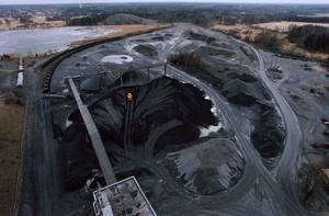 Dannemora gruvområde. En avsiktsförklaring om upprustning av järnvägen från Dannemora gruva till Hargshamn undertecknades i går.