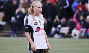 Cassandra Korhonen, blev tvåmålsskytt mot Hovås Billdal.