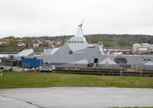 HMS Härnösand är den tredje korvetten av Visby-klass.
