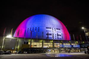 Biljetterna till Eurovision Song Contest i Globen släpps torsdagen den 26 november. ARKIVBILD