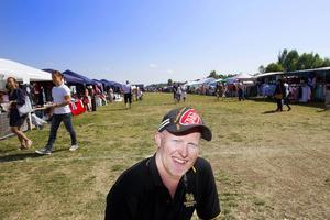 Nicklas Norberg, Thaifestival-general, tror på nytt publikrekord.