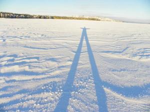Långt självporträtt ... Foto: Maria Gärdvall