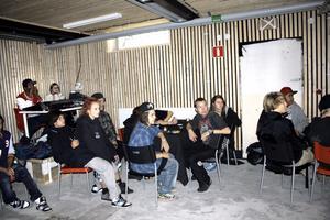 Publik. Under lördagens invigning tog gästerna plats i den nya konsertlokalen.