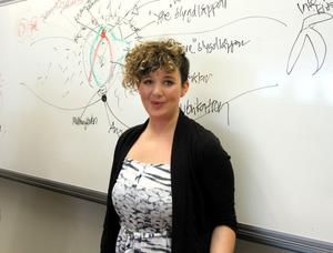 Föreläsaren Jessica Hansson från RFSU tycker att det pratas alldeles för lite om fittan.