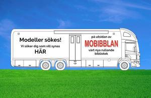 Mobibblans sidor ska prydas av stora bilder på olika Sundsvallsbor.