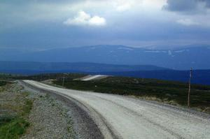 Det kan bli fler fjällvägar i länet. Förstudien inför bildandet av ett gemensamt destinationsbolag för södra Lappland ligger just nu hos länsstyrelse och Tillväxtverket. Ett av målen för initiativtagarna är att få till vägar mellan fjälldalarna i norra Jämtland och södra Västerbotten. Foto: Jennie Lie Kjörnsberg