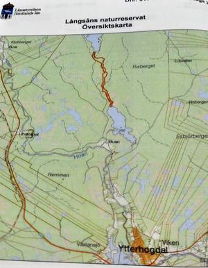 Långsån norr om Ytterhogdal har blivit ett naturreservat för att skydda den rödlistade flodpärlmusslan.