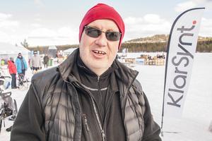 Ulf Sperring är en av sponsorerna och även utställare på ismässan.