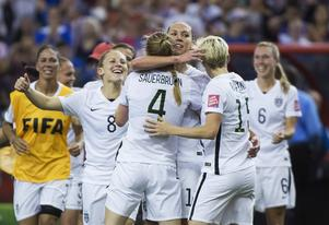 Rekordpublik såg USA ta VM-guld. ARKIVBILD.