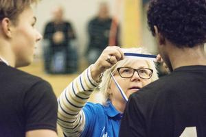 Det blev en intensiv helg för arrangörerna också. IFK Timrås Marie Edström hade ett finger med i mycket.