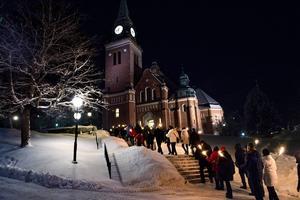 Insändarskribenten efterlyser bättre ljud i kyrkan. Foto: Robbin Norgren/Arkiv