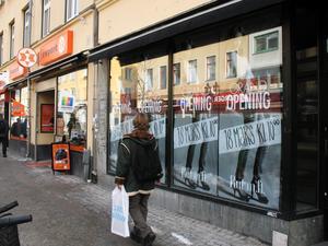 På gång. Snart öppnar butiken Rut m.fl. på Drottninggatan.