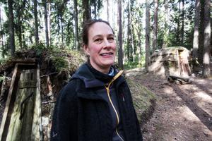 Malin Bruce hoppas att Sveaskog i samarbete med kommunen tänker om.